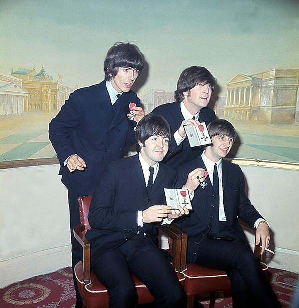 ORder Imperium Brytyjskiego: The Beatles