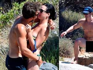 Orlando Bloom, Katy Perry na wakacje