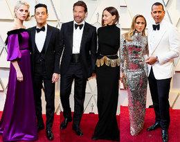 Jennifer Lopez i Alex Rodriguez, Rami Malek i Lucy Boynton, Bradley Cooper z Iriną Shayk...