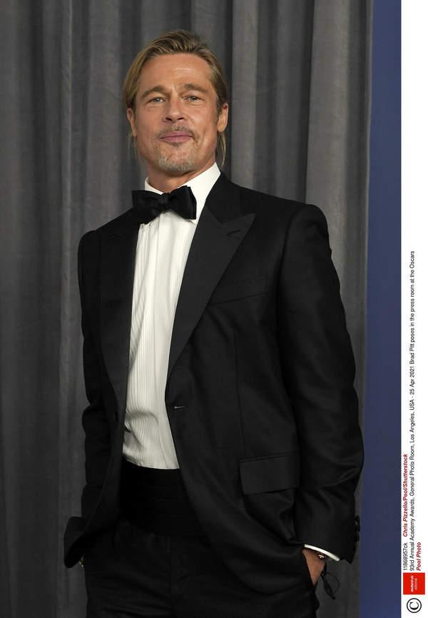 Oscary 2021, relacja, Brad Pitt