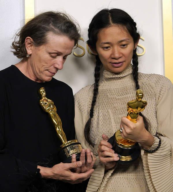 Oscary 2021, relacja, Chloe Zhao, Frances McDormand