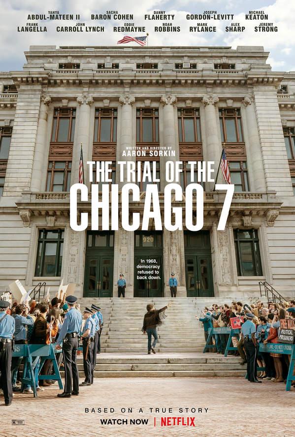 "Oskary 2021: film ""Proces Siódemki z Chicago"""