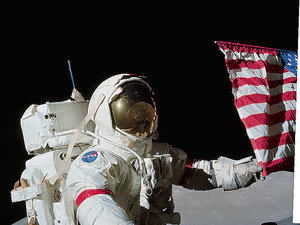 ostatni astronauta na księżycu