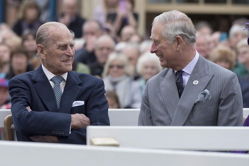 Ostatnia rozmowa księcia Filipa i księcia Karola