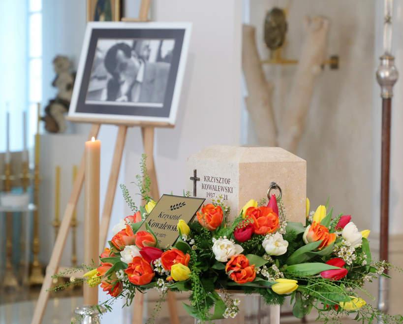 Ostatnie pożegnanie Krzysztofa Kowalewskiego, pogrzeb Krzysztofa Kowalewskiego