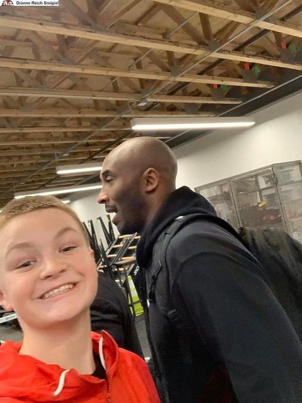 ostatnie zdjęcie, Kobe Bryant, Brady Smigiel