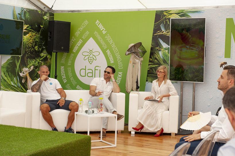 Otwarcie pasieki Dafi