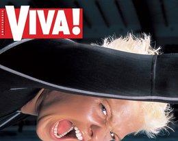 """Otylia Jędrzejczak, """"Viva!"""" sierpień 2002"""