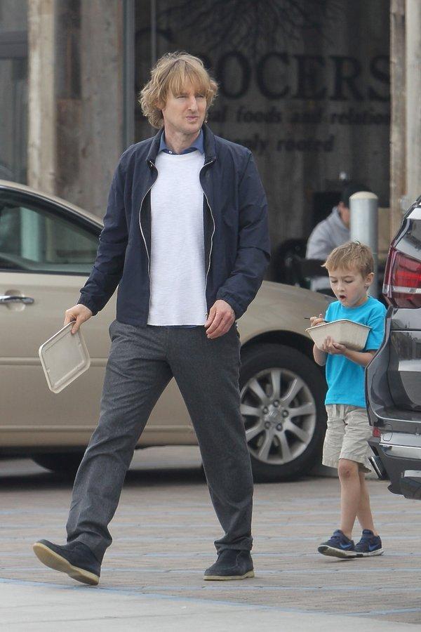 Owen Wilson z synem