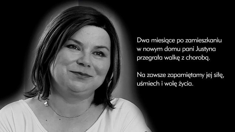 Pani Justyna, Nasz Nowy Dom