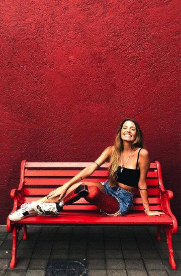 Paola Antonini, modelka bez nogi