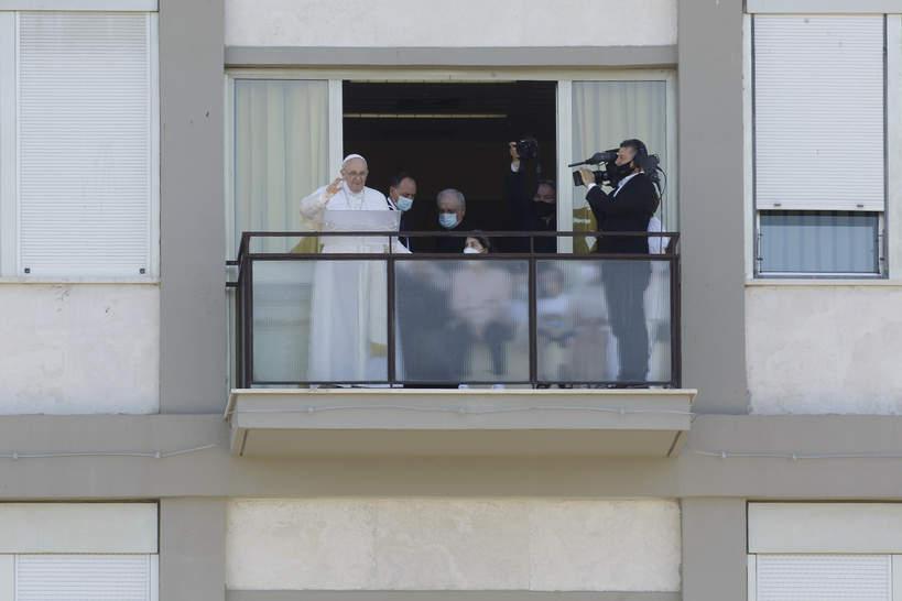 Papież Franciszek w szpitalu
