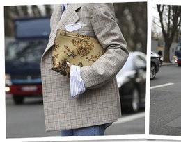 Paris Fashion Week. Łączenie wzorów