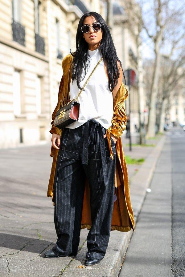 Paris Fashion Week. Oversize