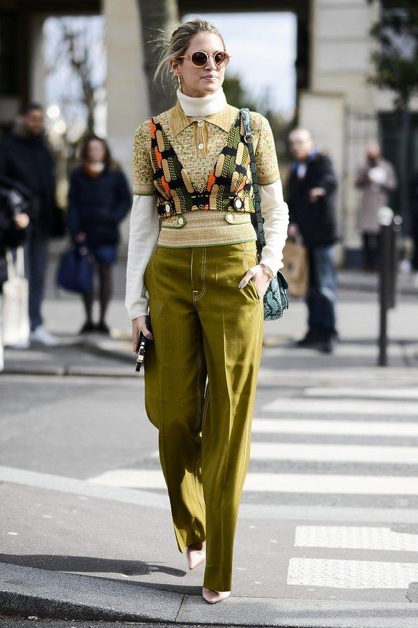 Paris Fashion Week. Warstwy