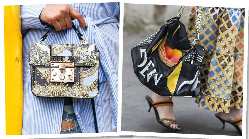 Paris Fashion Week. Wzorzyste torebki