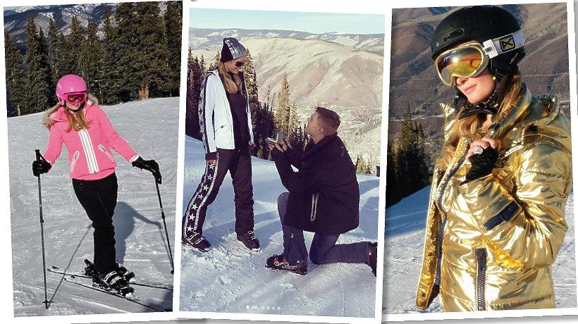 Paris Hilton w Aspen