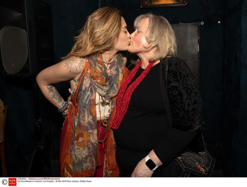 Paris Jackson i Debbie Rowe