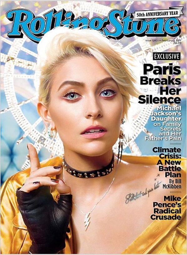 Paris Jackson na okładce Rolling Stone
