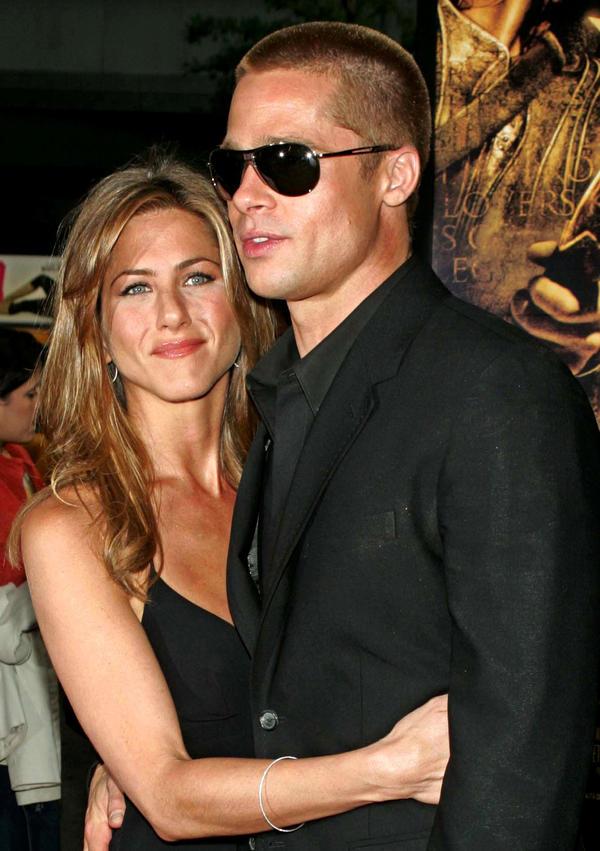 pary Hollywood, za którymi tęsknimy, Jennifer Aniston, Brad Pitt, 2004