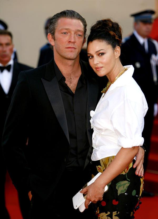 pary Hollywood, za którymi tęsknimy, Vincent Cassel, Monica Bellucci, 2006