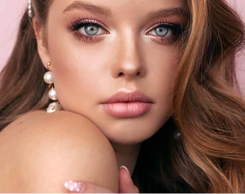 pastelowy makijaż na wielkanoc