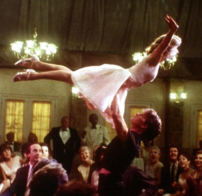 Patrick Swayze, Jennifer Grey, Darty Dancing