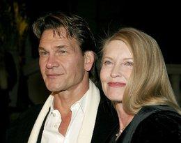 Patrick Swayze z żoną