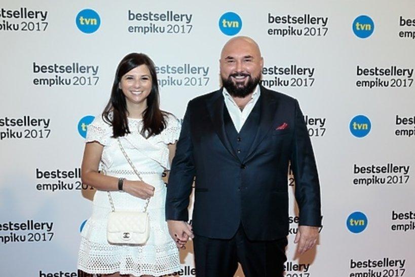 Patryk Vega z żoną, Katarzyną Słomińską