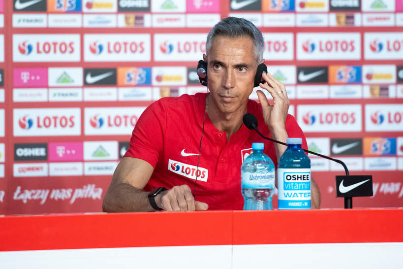 Paulo Sousa - selekcjoner reprezentacji Polski w piłce nożnej