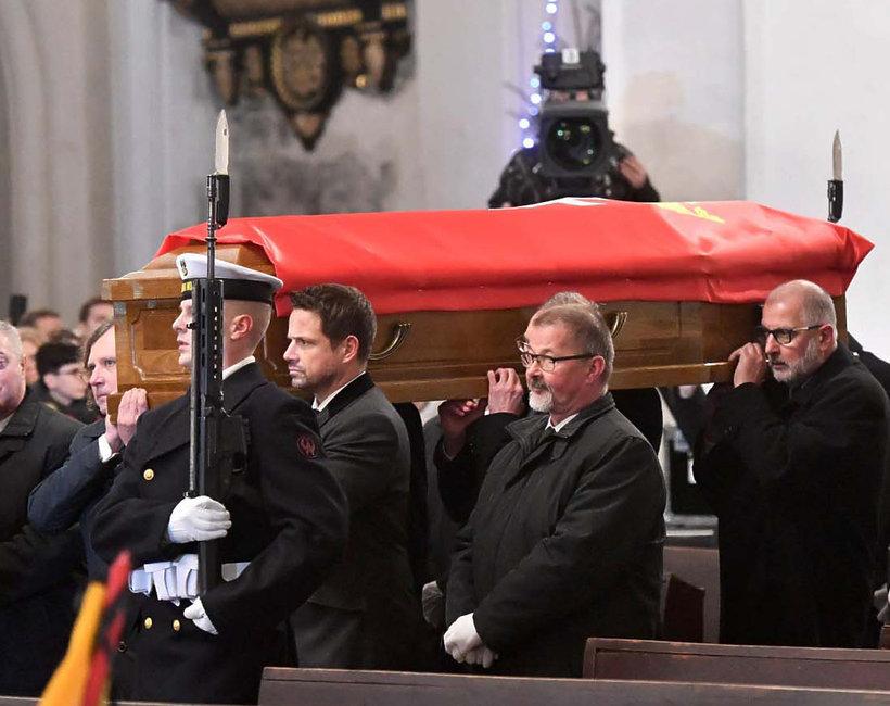 Paweł Adamowicz, prezydent Gdańska, pożegnanie