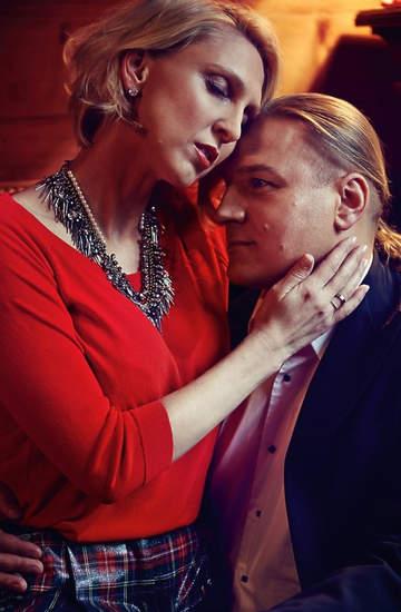 Paweł Golec, Katarzyna GOlec, VIVA! grudzień 2013