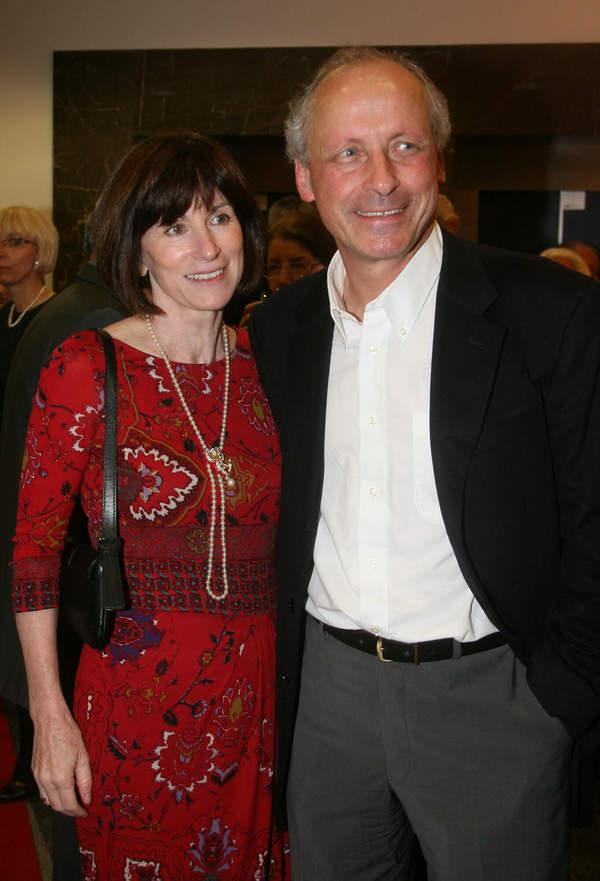 Paweł Wawrzecki z żoną, Izabela Roman, 2009 rok