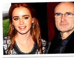 """""""Wybaczam Ci, że byłeś złym tatą"""" nominowana do Złotego Globu aktorka Lily Collins pisze list do słynnego ojca"""