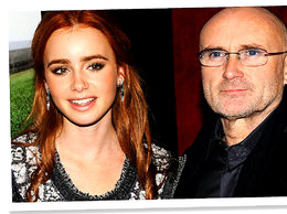 Phil Collins i Lily Colins