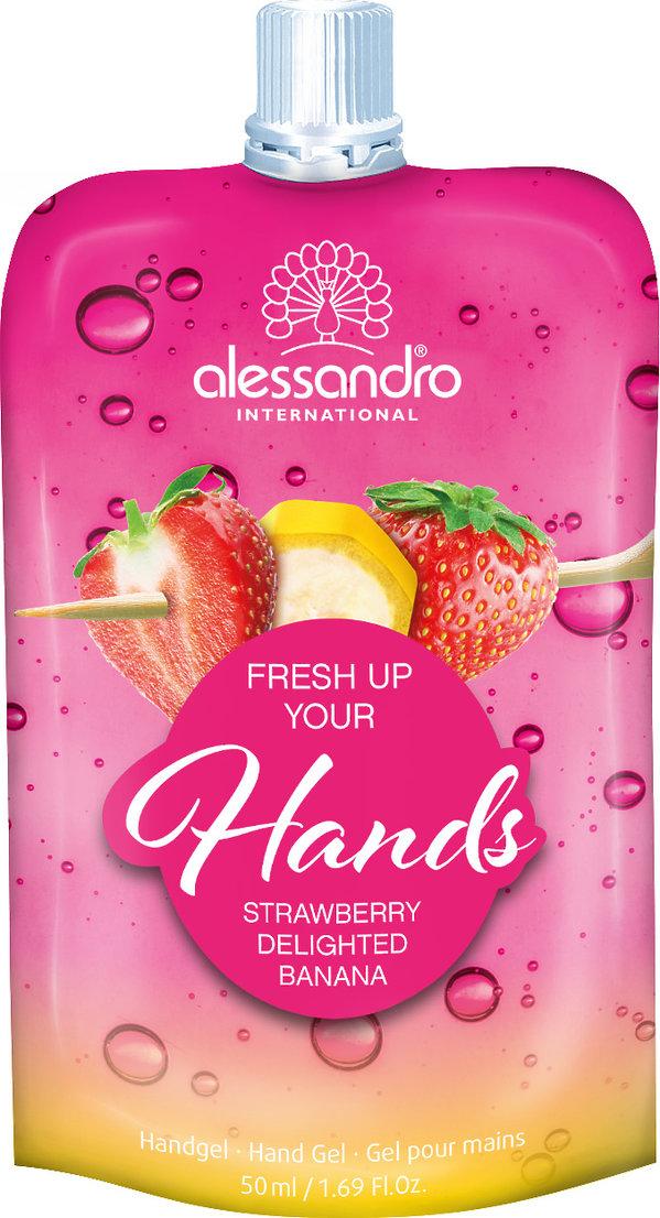 Pielęgnujący żel do rąk Fresh Up Your Hands, ALESSANDRO