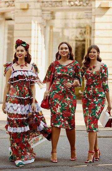pierwsza linia plus size Dolce & Gabbana