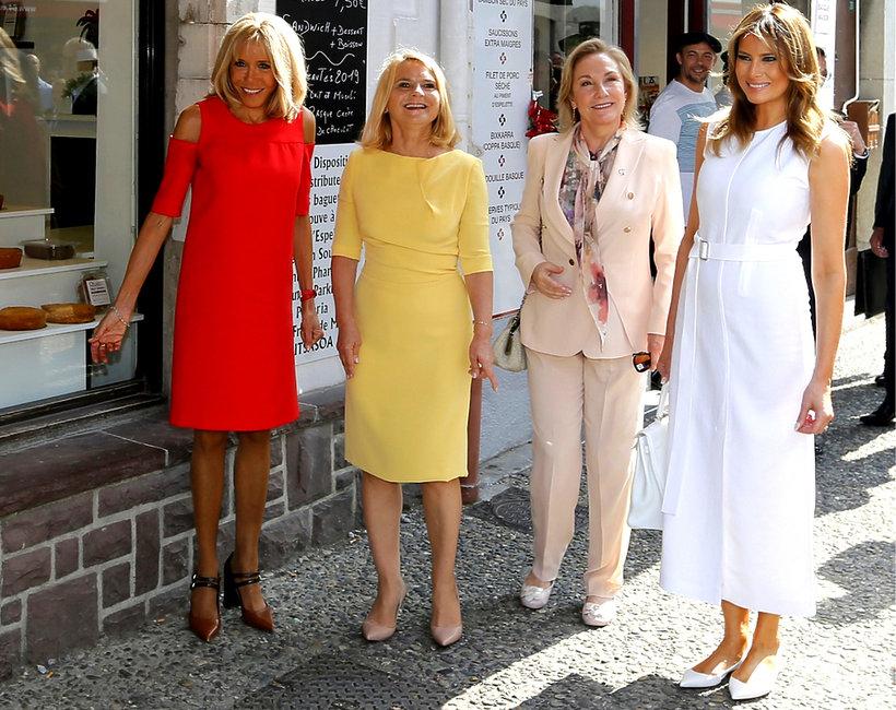 pierwsze damy na szczycie G7 2019