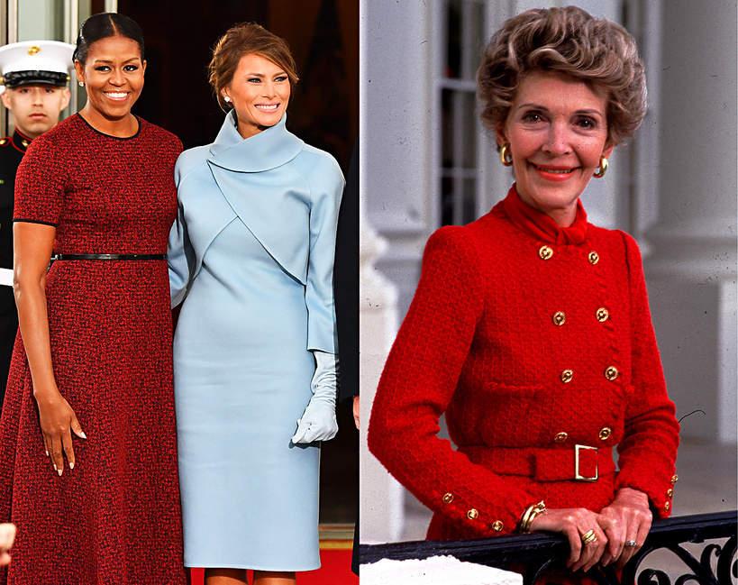 Pierwsze damy USA, historia spotkań