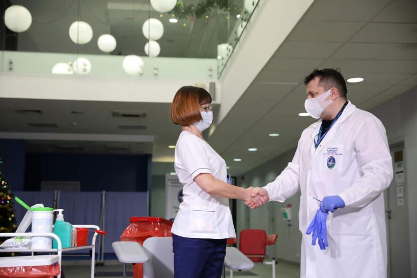 Pierwsze szczepienie na koronawirusa w Polsce