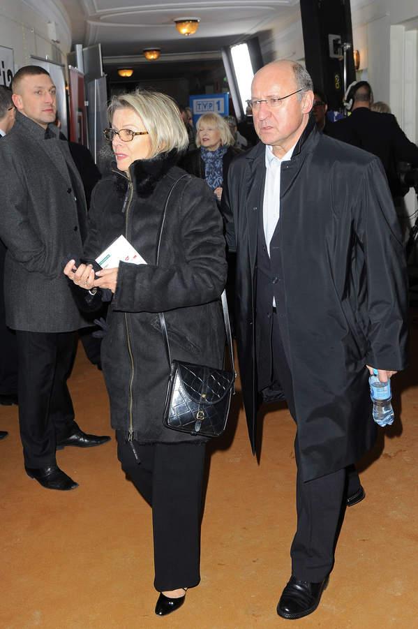 Piotr Fronczewski, żona Ewa