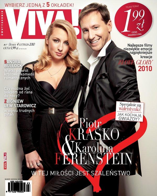 Piotr Kraśko i Karolina Ferenstein-Kraśko, Viva! luty 2010