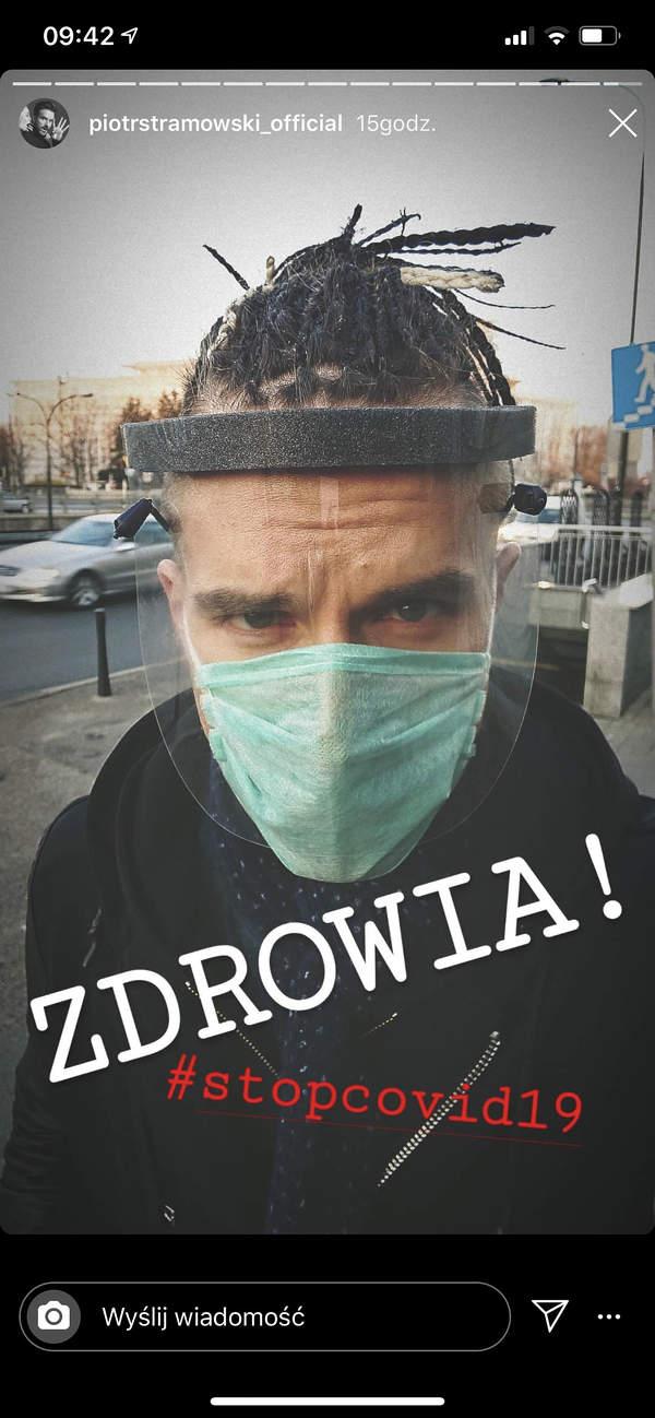 Piotr Stramowski, fryzura