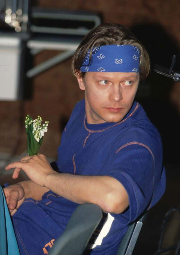 Piotr Szwedes w młodości