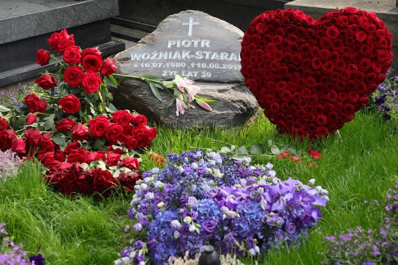 Piotr Woźniak-Starak, grób Piotra Woźniaka-Staraka w Warszawie