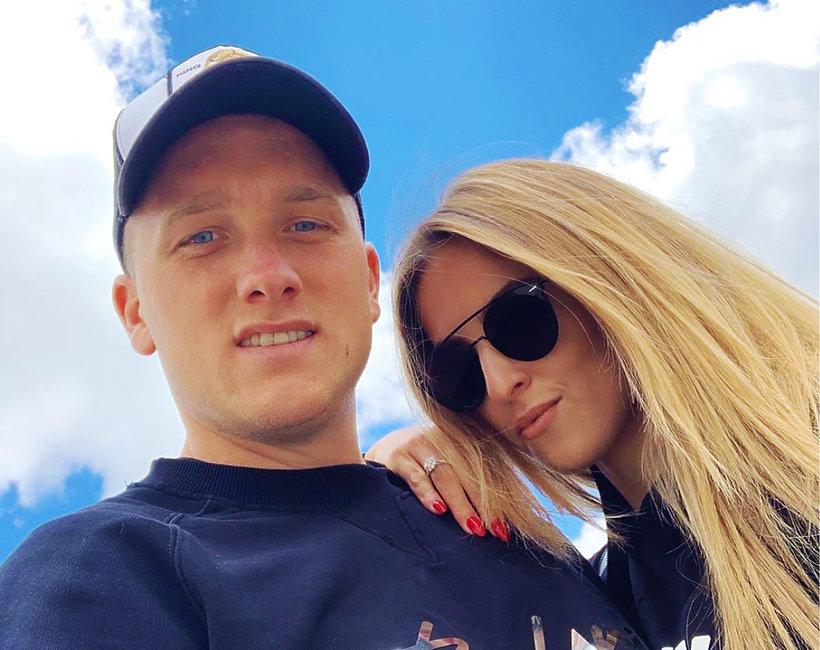 Piotr Zielińska i Laura Słowiak