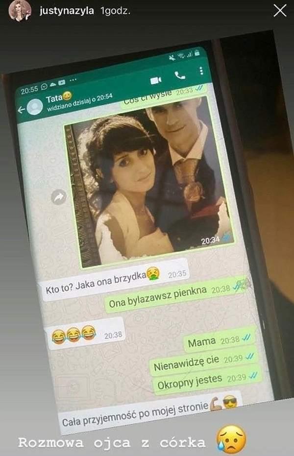 Piotr Żyła, Justyna Żyła