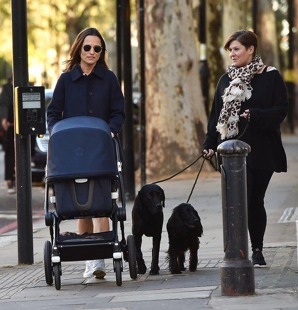 Pipa Middleton pierwsze zdjęcia po porodzie
