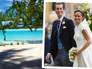 Pippa Middleton miesiąc miodowy