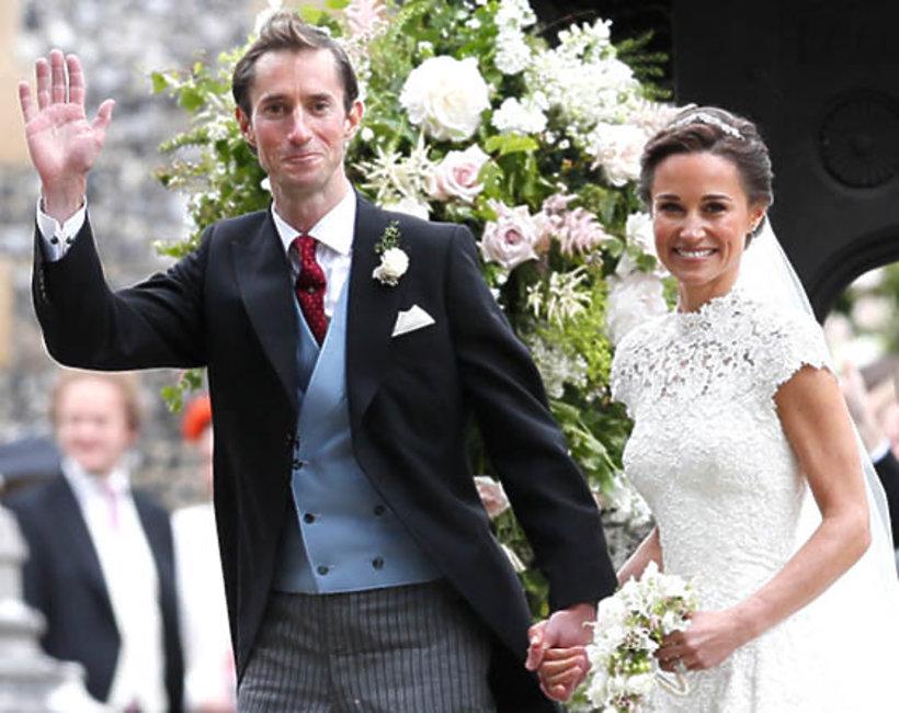 Pippa Middleton, ślub